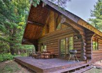 Log cabin MI