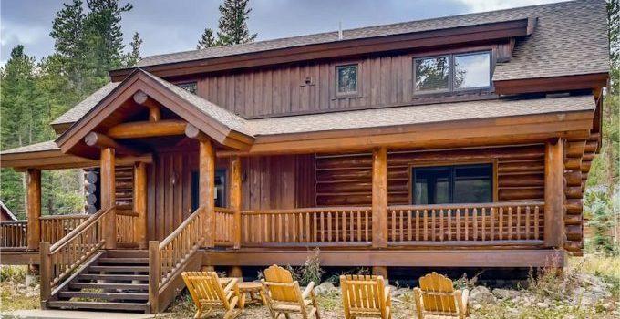 Log cabin in Breckenridge